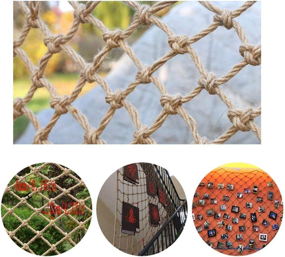 ナイロンアンチフォールカバーネットアンチキャットネットアイソレーション保護ネットバルコニー装飾フェンスネット子供用階段保護ネット保育園植物建物セーフティネット (Size : 1*10)  1*10