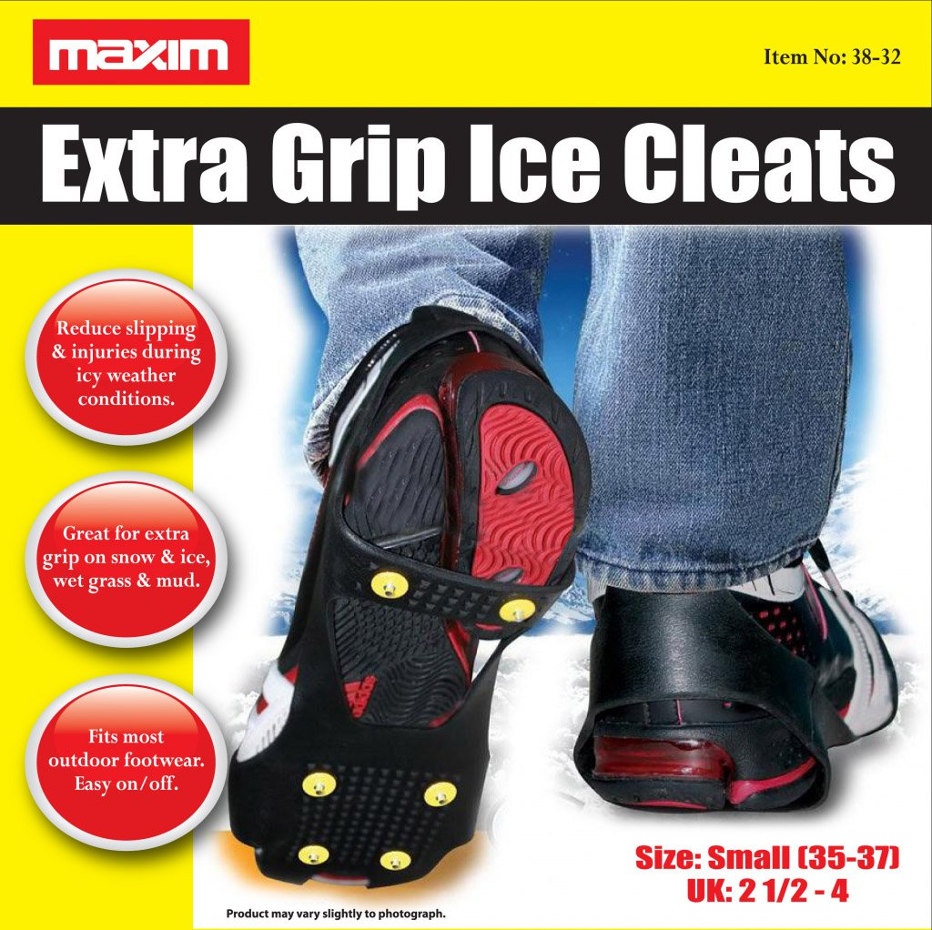 Maxim Extra Grip Ice Cleats Small, by Globatek (Image #1)