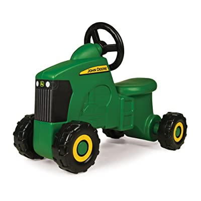 John Deere Sit-N-Scoot Tractor Toy, Green, One Size: Toys & Games