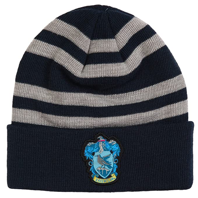 Harry Potter Ravenclaw Crest Beanie  Amazon.co.uk  Clothing 03c57b8efc7