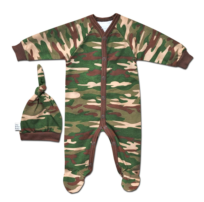 Amazon Itty Bitty Baby Preemie Boys Camo Kid Sleeper Infant