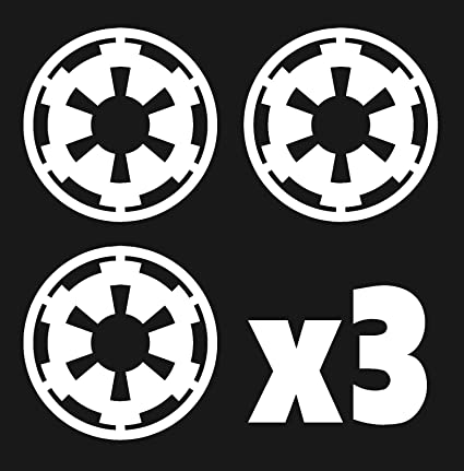 Amazon Star Wars Imperial Empire Symbol Car Stickers X3 Automotive