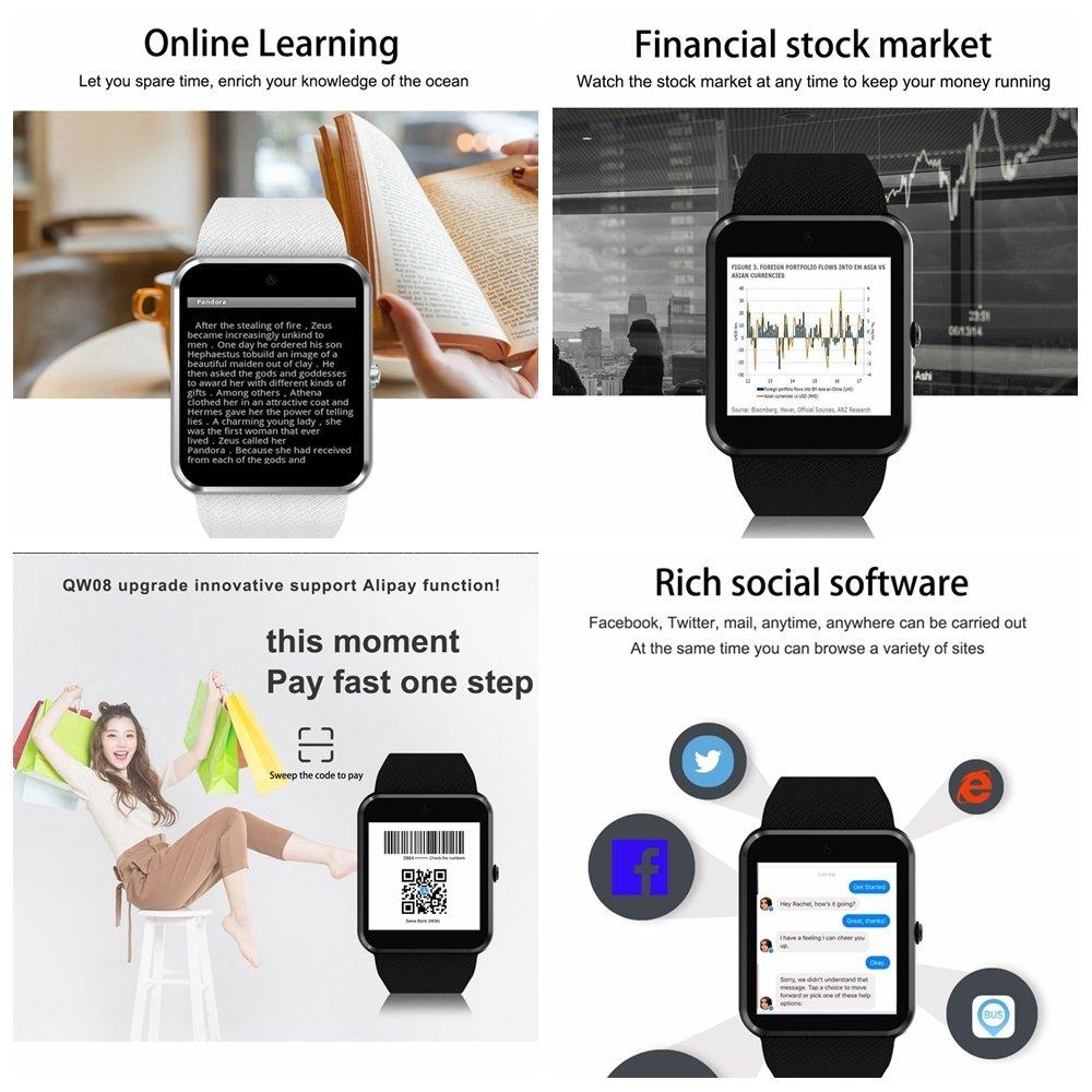 FLy Smart Watch QW09 Llamada 3G Mobile Payment Sistema ...