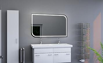 Led Beleuchteter Badspiegel Mit Licht Badezimmerspiegel Mit Led