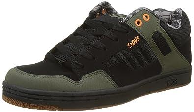 DVS Shoes Enduro 125, Zapatillas para Hombre, Schwarz (Black Olive Nubuck), 42.5 EU
