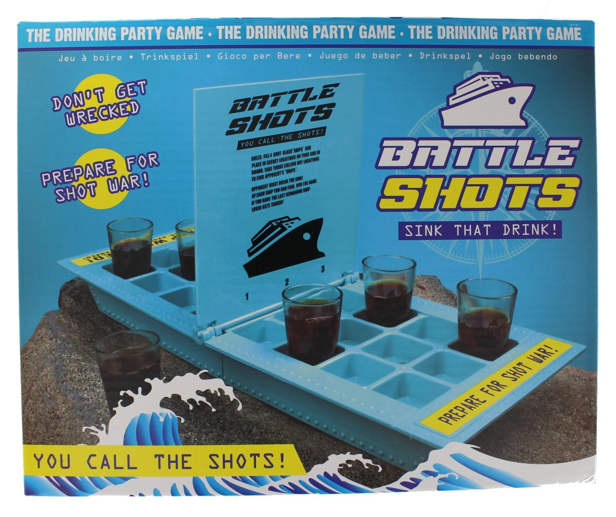 Battle Shots Adult Drinking Party Game Stag Night Shot Game PMS