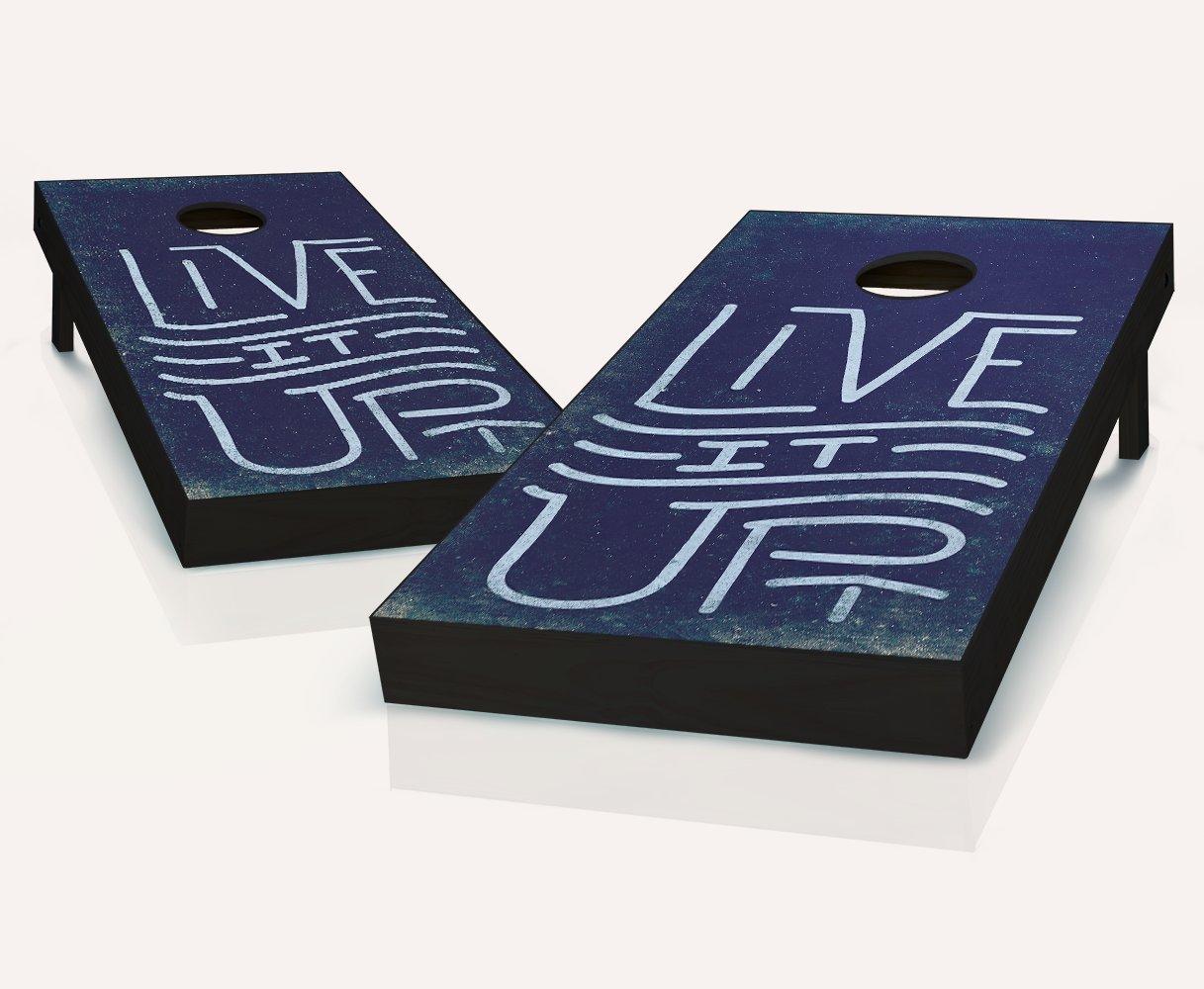 Live It Up Cornhole Boards It withのセット8 Boards Cornhole Bags withのセット8 B07BWVKCCS, BILLABONG ONLINE STORE:40809d71 --- webshop.mrf.se