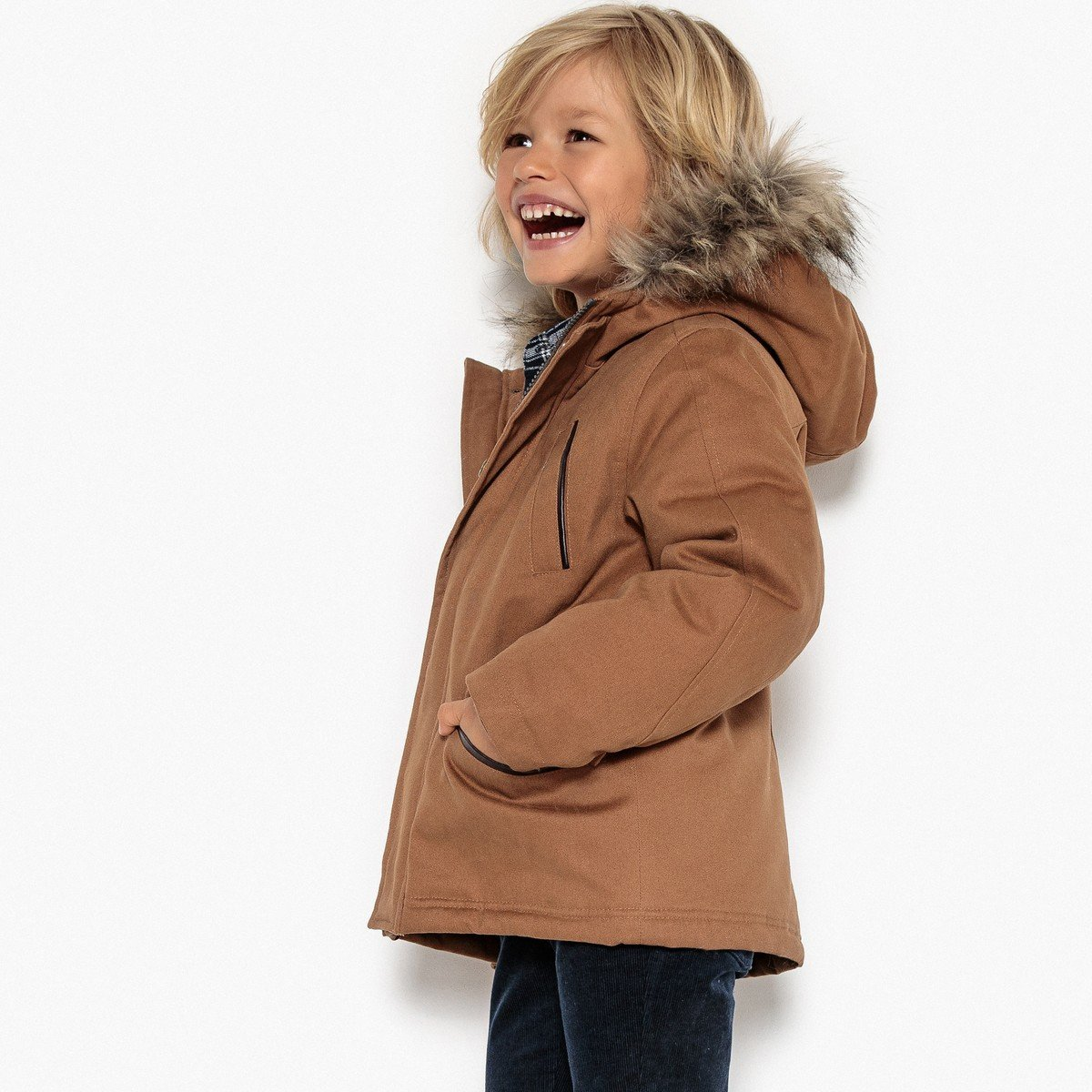 3-12 Years La Redoute Collections Big Boys Hooded Parka