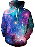 TUONROAD 3D Printed Unisex Graphic Hoodies Cool Realistic Pullover Athletic Hooded Sweatshirts