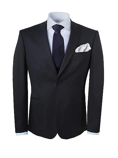 GENTSY Conjunto de corbata y pañuelo para hombre - K63/P1 ...