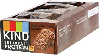 product image for KIND Bars Breakfast Protein, Dark Chocolate Cocoa, 8 Pack of 2 Bars, 1.76 oz (50 g) Each