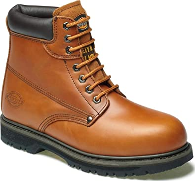 NEW MENS DICKIES ANTRIM LIGHTWEIGHT STEEL TOE CAP SAFETY ANKLE WORK BOOTS SHOES