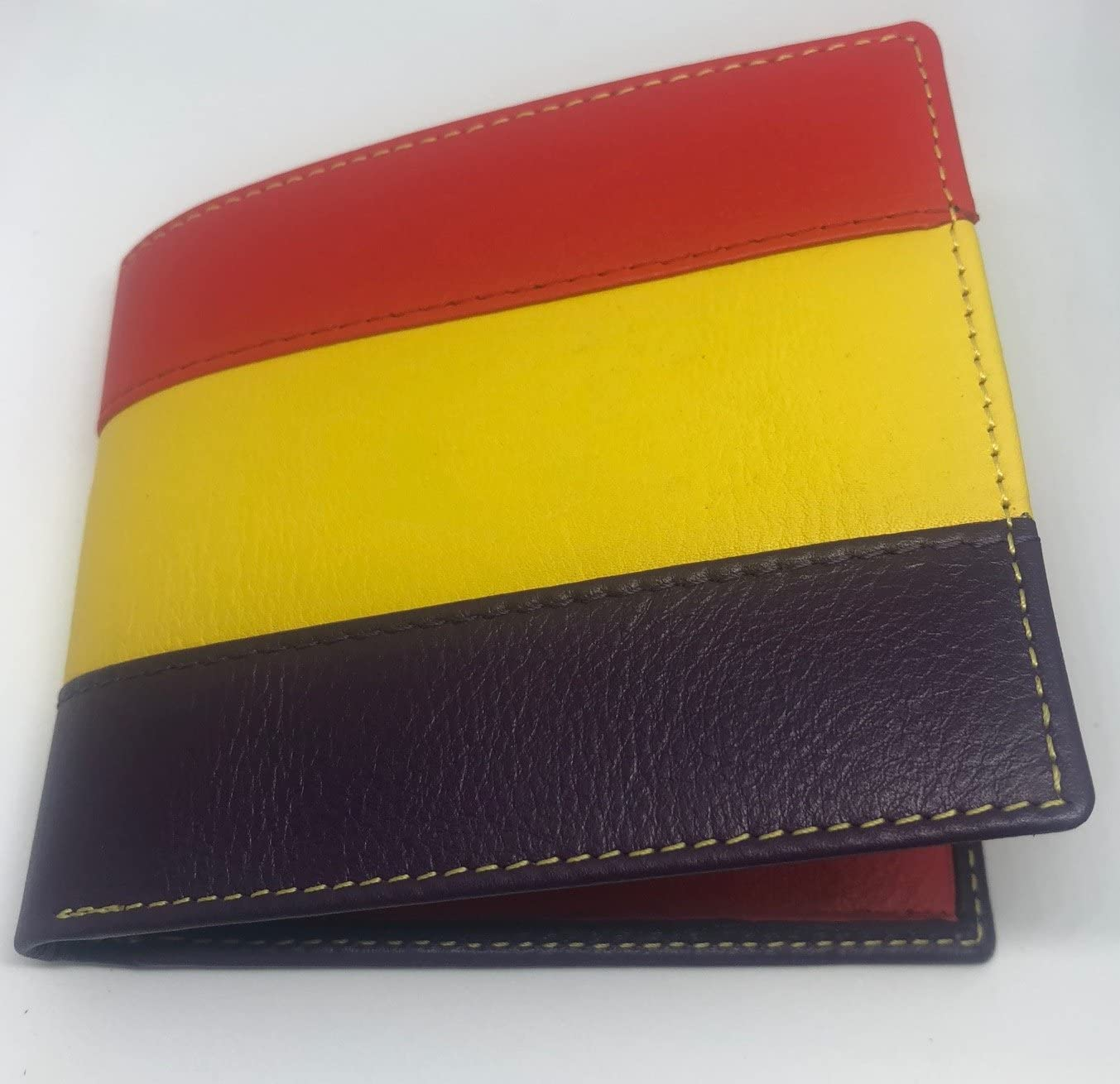 Cartera Americano Bandera Republicana Piel UBRIQUE: Amazon.es ...
