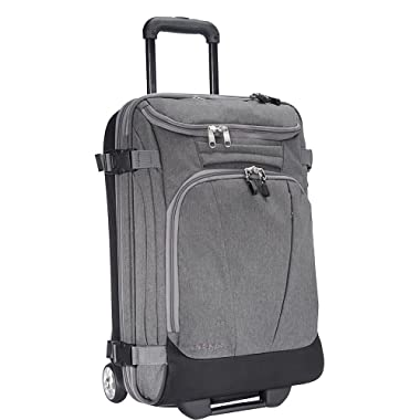 eBags TLS Mother Lode Mini 21  Wheeled Duffel Bag Luggage - Carry-On - (Heathered Graphite)