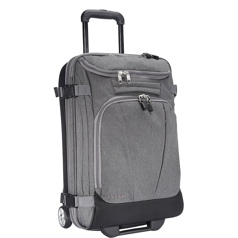 eBags TLS Mother Lode Mini 21'' Wheeled Duffel Bag Luggage - Carry-On - (Heathered Graphite)