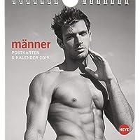 Männer Postkartenkalender - Kalender 2019