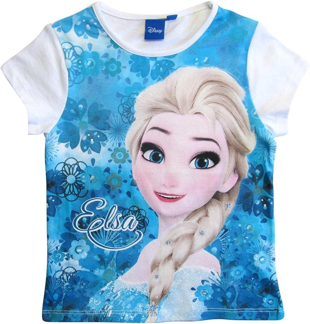 Frozen Die Eisk/önigin T-Shirt M/ädchen Anna und ELSA Disney