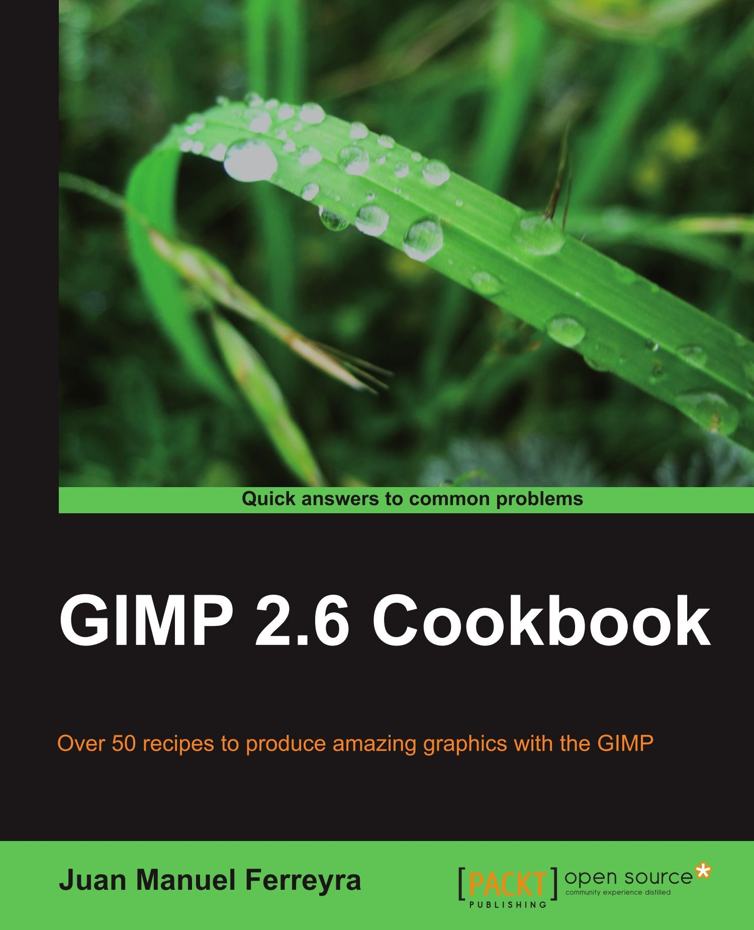 GIMP 2 6 cookbook: Amazon co uk: Juan Manuel Ferreyra