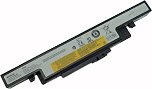LQM New Laptop Battery for Lenovo Ideapad Y400 Y410 Y490 Y500 Y510 Y590 L11S6R01 L11L6R02 L12L6E01 L12S6A01 L12S6E01 3ICR19/65-2 3INR19/66-2