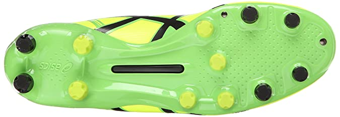 e9b153435e5006 Amazon.com | ASICS Men's Ds Light X-Fly 2 MS Soccer Shoe, Flash  Yellow/Black, 10.5 M US | Soccer