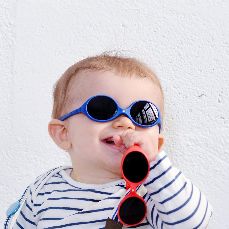 Grigio Infrangibili al 100/% Ki ET LA 12-30 mesi Occhiali da sole per bambini stile Jokaki