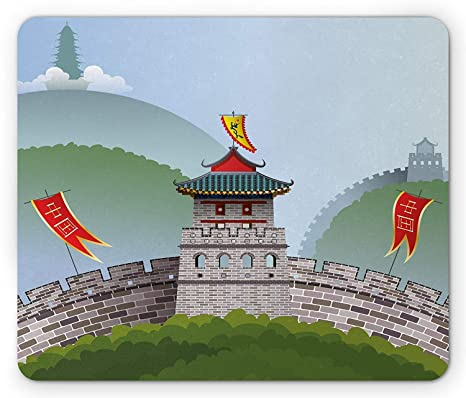 Amazoncom Ancient China Mouse Pad Cartoon Style Great