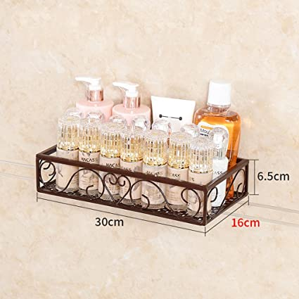 Mensole Bagno Ferro Battuto.Liming Mensola Bagno 1 Ripiano Doccia Caddy Bagno Cestino