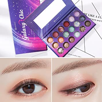 Beauty Essentials 4 Colors Meteor Storm Eye Shadow Palette Glitter Makeup Shimmer Eyeshadow Cosmetic Kit Shimmer Eyeshadow Beauty & Health