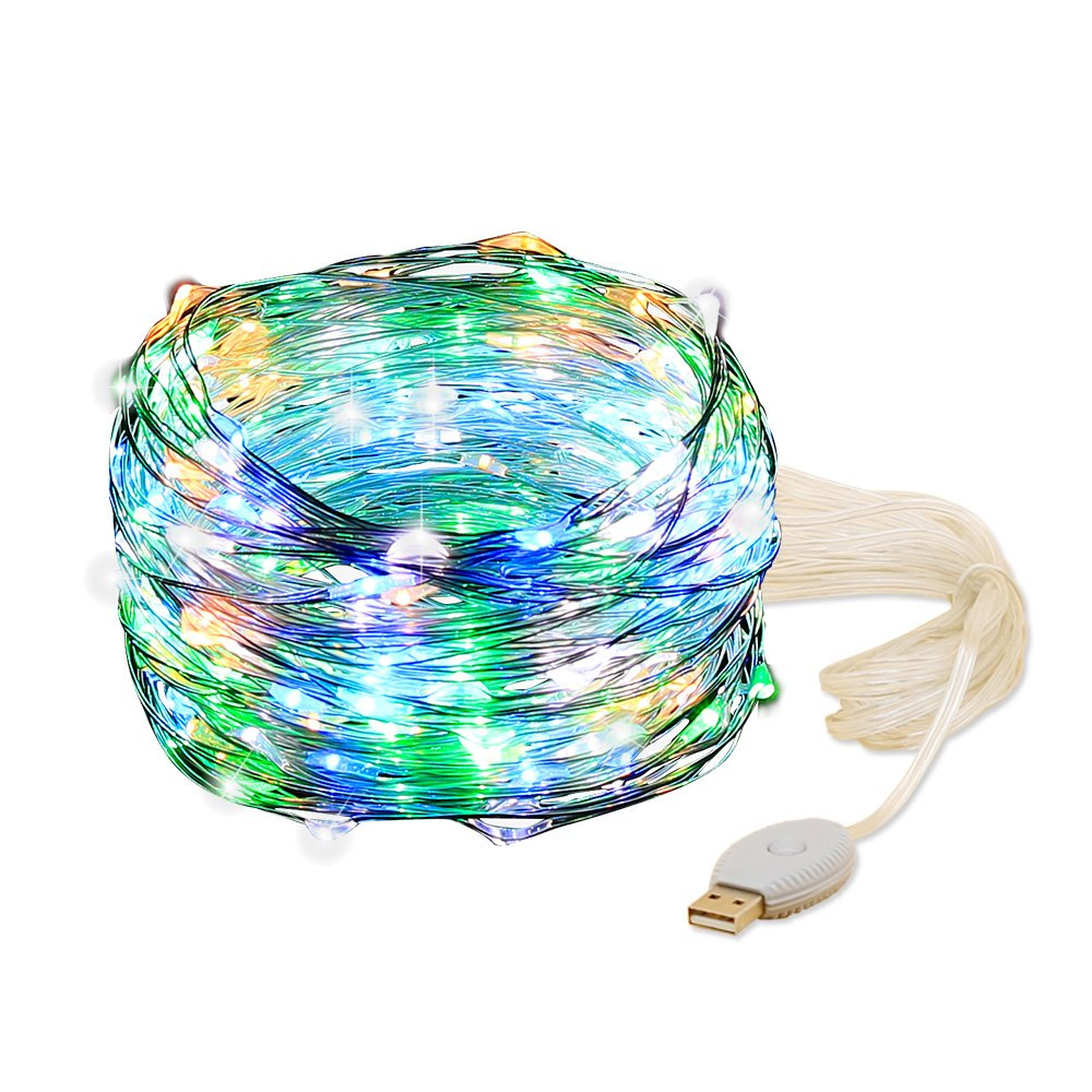 Amazon.com : YINGHAO USB String Lights, Color Changing 240 LED/80ft ...