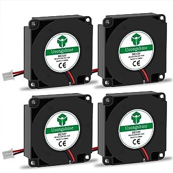 Usongshine Lot de 4 ventilateurs pour imprimante 3D, FW40*40