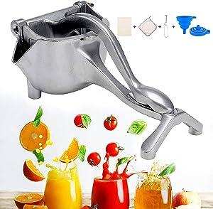 Lemon Squeezer, Detachable Juicer Hand Press Heavy Duty Orange Juice Squeezer for Pressing Lemons, Oranges, Pomegranates