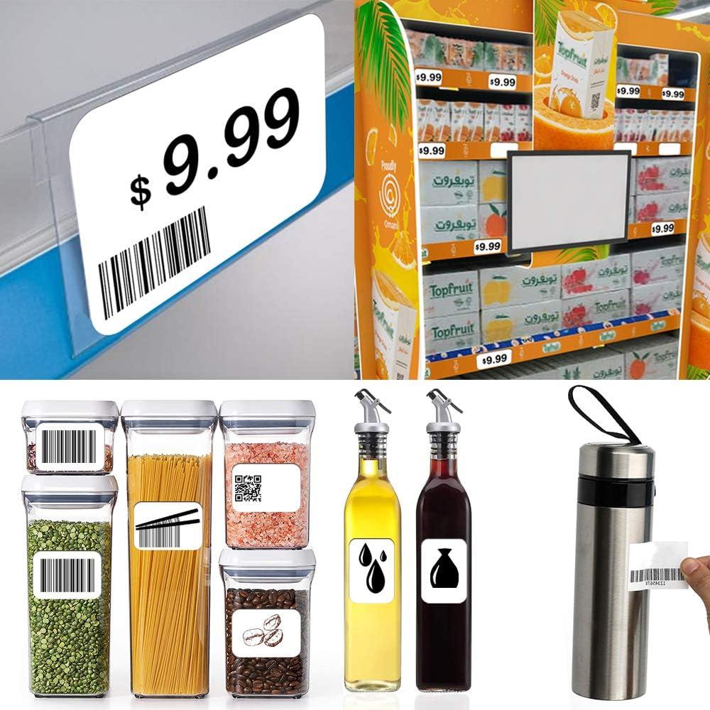etichette adesive per etichette alimentari 1600 rotoli di etichette autoadesive Lifreer 60 mm x 30 mm etichette per indirizzi congelatori