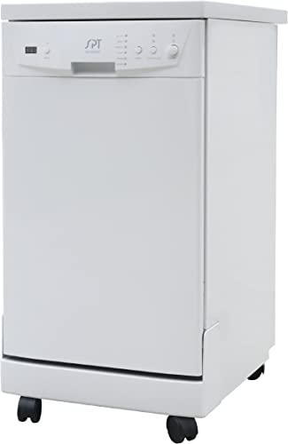 Amazon.com: SPT SD-9241W Energy Star Lavavajillas portátil ...