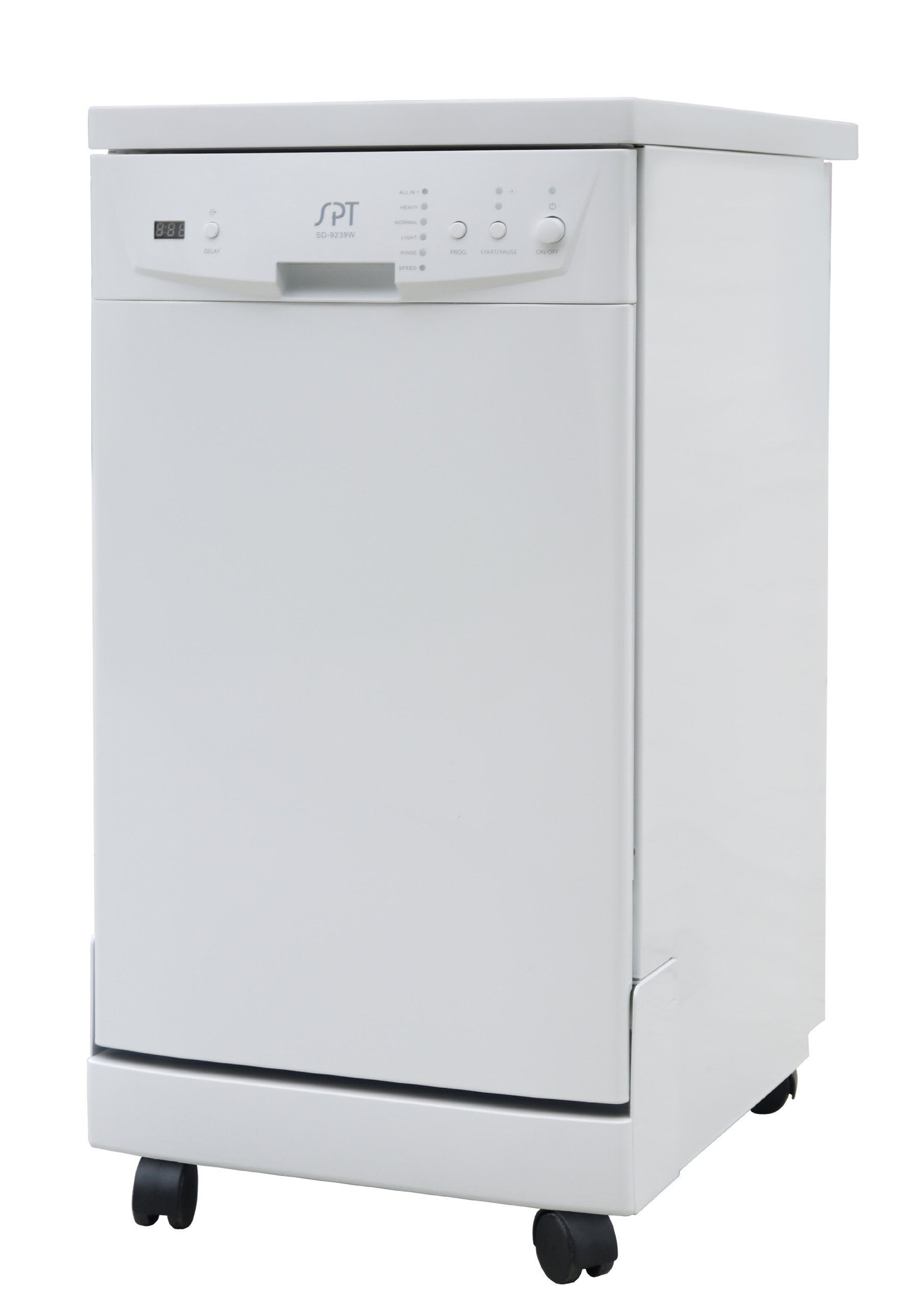 SPT SD-9241W Energy Star Portable Dishwasher, 18-Inch, White by SPT