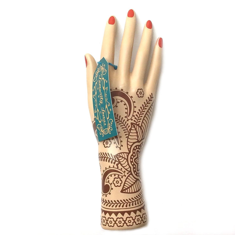 Mehndi main Train Décoration tatouage au henné Bague support 25cm Temerity Jones