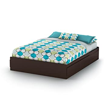 Amazon.com: South Shore Cama Vito Mates de 59.8 in, Queen ...