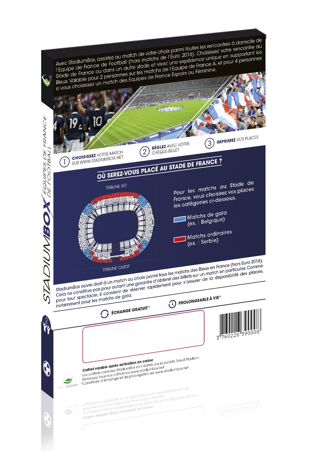 StadiumBox Bleus Travel Stadium SB1