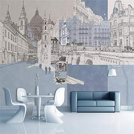 YBHNB 3D Arte Abstracto Mural, Mural Personalizado Moderno Pintado ...