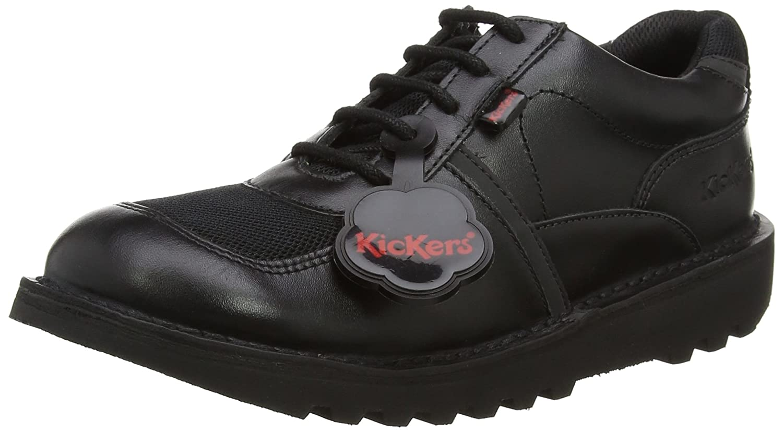 Kickers Neko Single, Derbys garçon: : Chaussures et