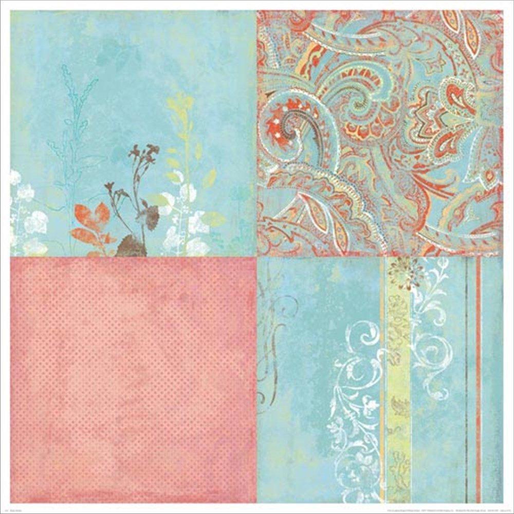 865839 – 親 25 – x 25 Art Laminated Art L865839-AA Print ブルー L865839-AA 25 x 25 Laminated Art Print B01HG0LQSQ, LIVELIFE【ライブライフ】:e005f2e5 --- m2cweb.com