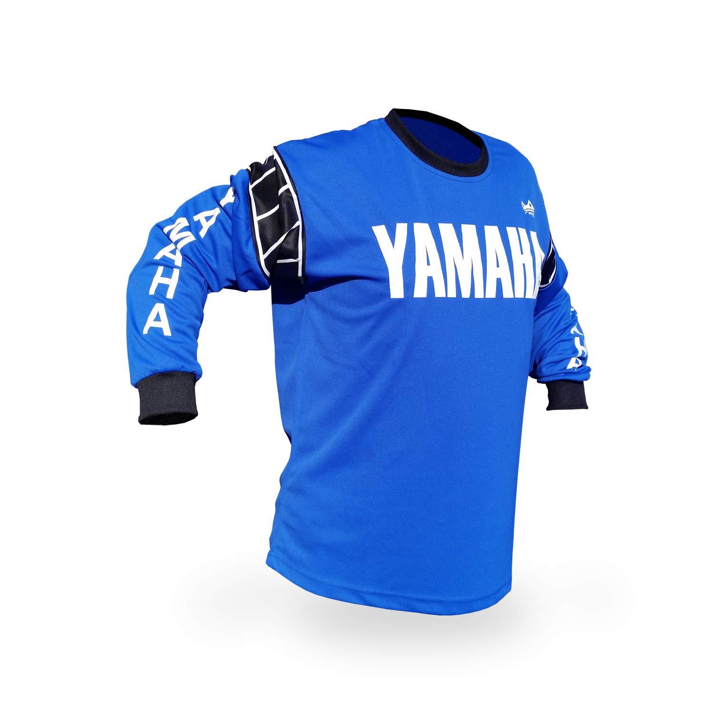Reign VMX Yamaha Vintage Style Blue Motocross Jersey - Size S/M