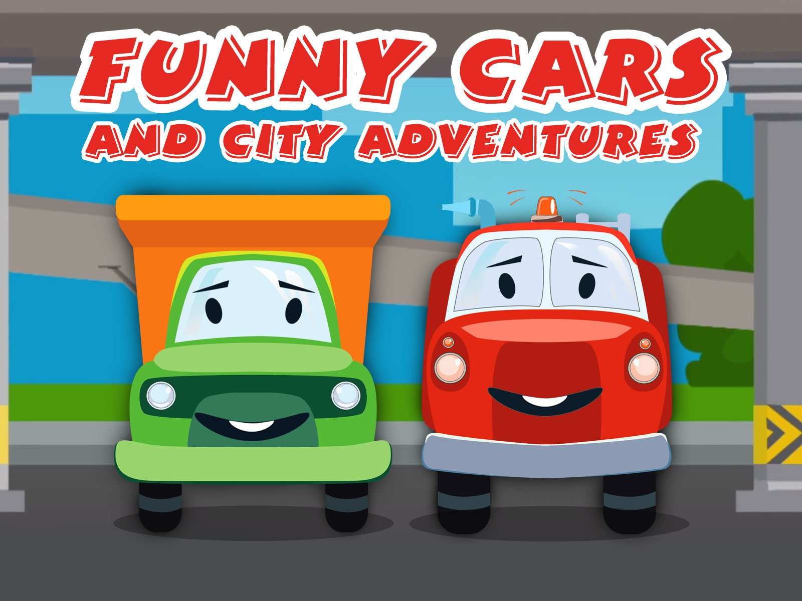 Funny Cars and City Adventures on Amazon Prime Video UK