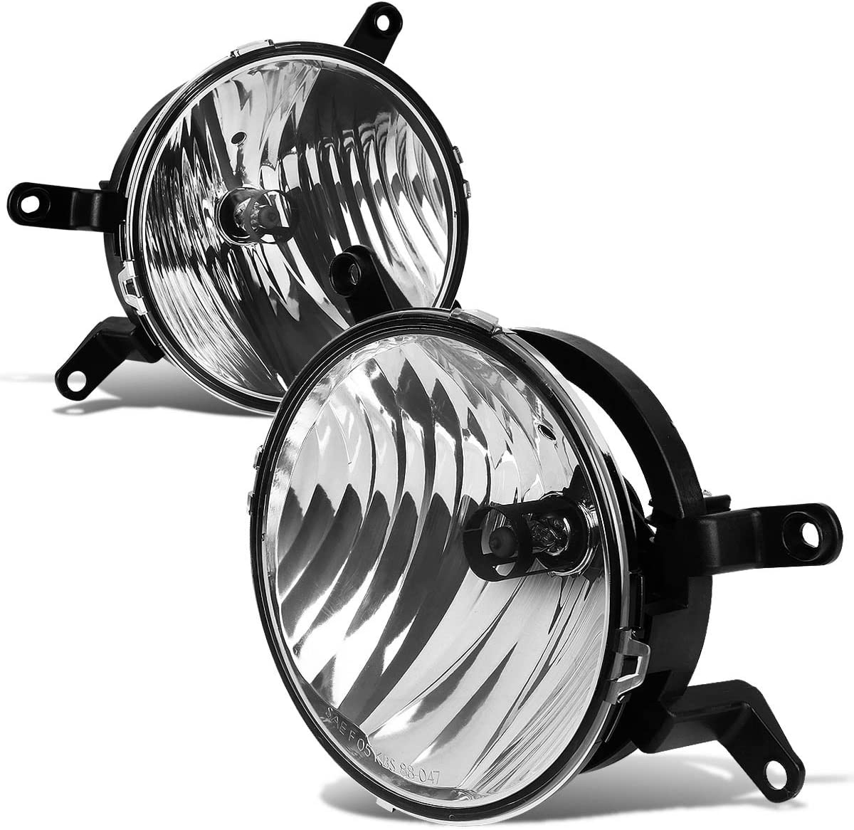 DNA Motoring FL-NS026-CH Front Bumper Fog Light