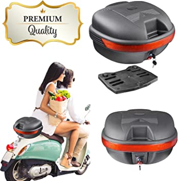 Motorcycle Rear Trunk Car Trunk Universal Electric Scooter Tool Box