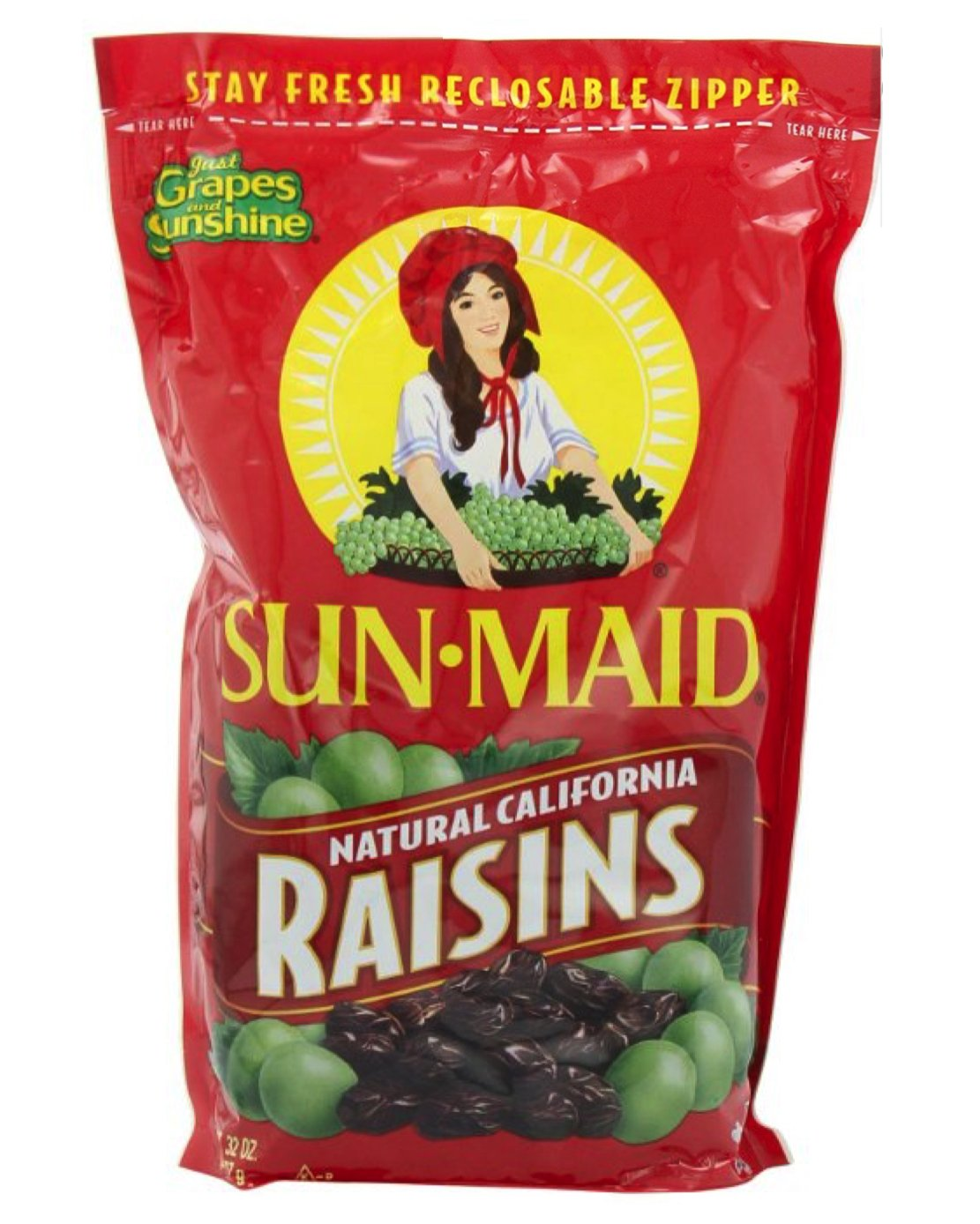 Sun Maid - California Raisins - 32 ounce Bag
