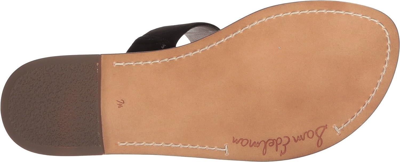 Sam Edelman Women's Gala Slide Sandal B076MDSBM5 9.5 W US|Black Kid Suede Leather