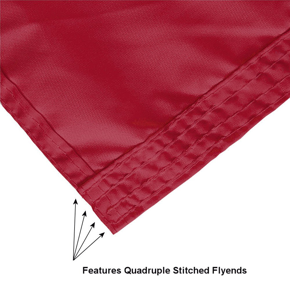 College Flags and Banners Co South Carolina Gamecocks Double Sided Nylon Embroidered Flag