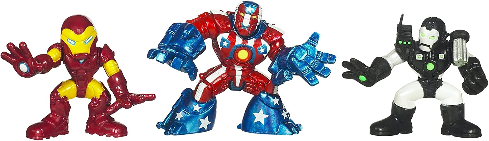 Marvel Super Hero Squad Movie Pack With Iron Man War Machine ...