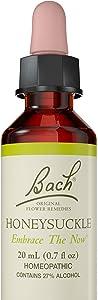 Bach Original Flower Remedy Dropper, 20 ml, Honeysuckle Flower Essence Clear 0.7 Fl Oz, Clear