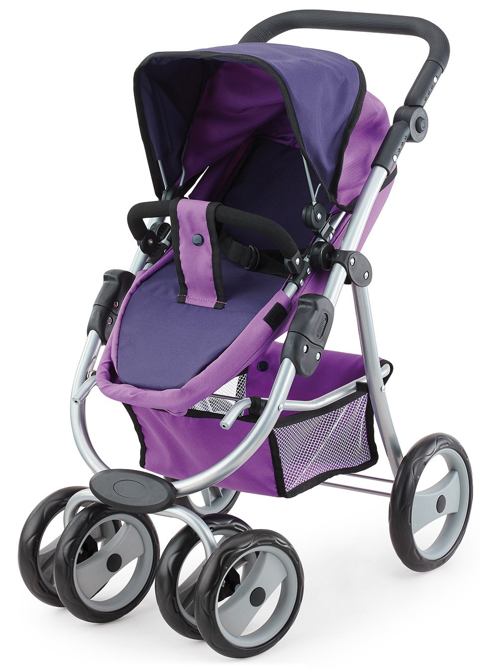 Amazon.com: Bayer Design 22212 - Puppen-/Sportwagen Jogger Vario, lila: Toys & Games